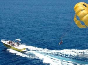 parasailing op gran canaria